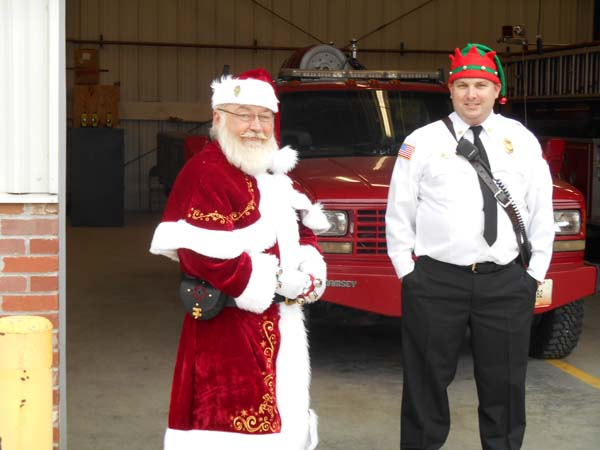 Santa Visits Kansas City