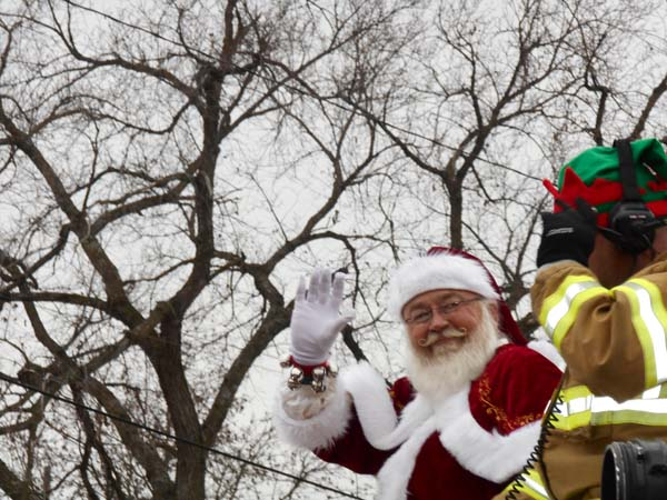 Kansas City Santa - Parade and Visits