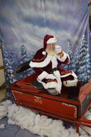 Santa Claus in Kansas City
